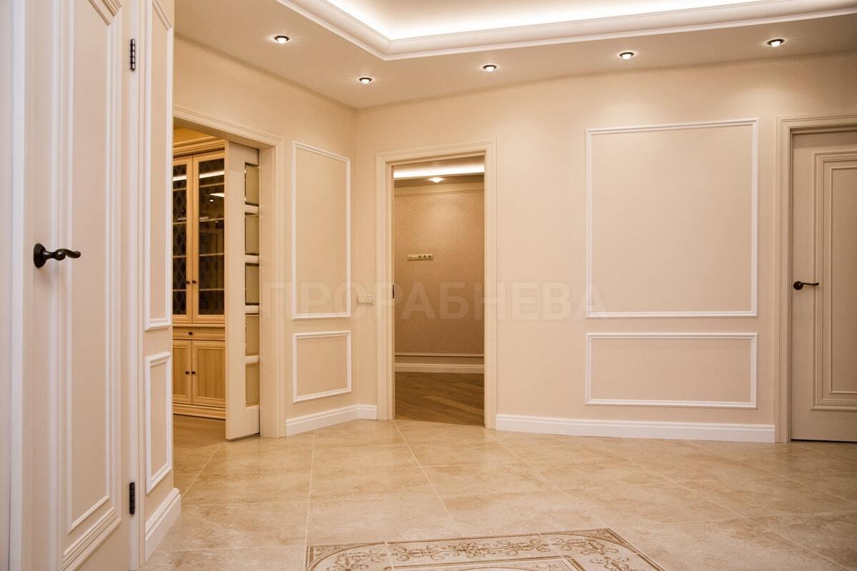Ремонт новой квартиры по дизайн-проекту - Прораб Нева