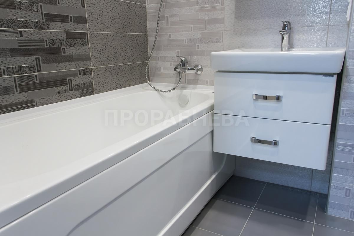 Ремонт ванной и туалета в новостройке - Прораб Нева
